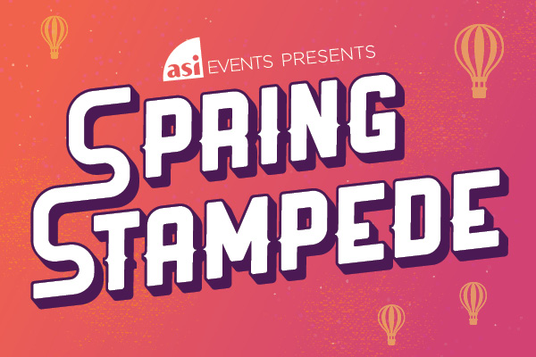 ASI Events presents spring stampede