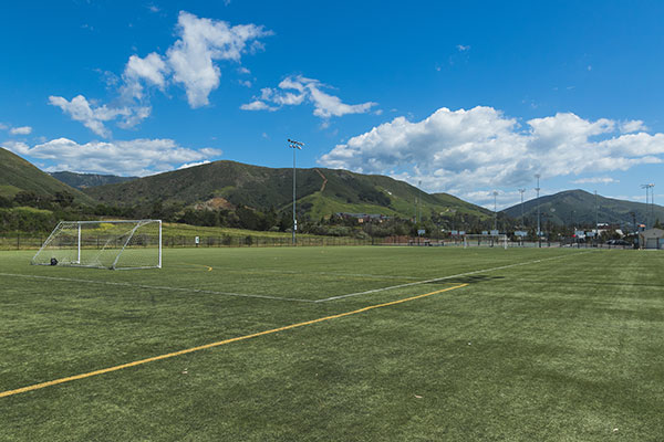 synthetic turf soccer fields